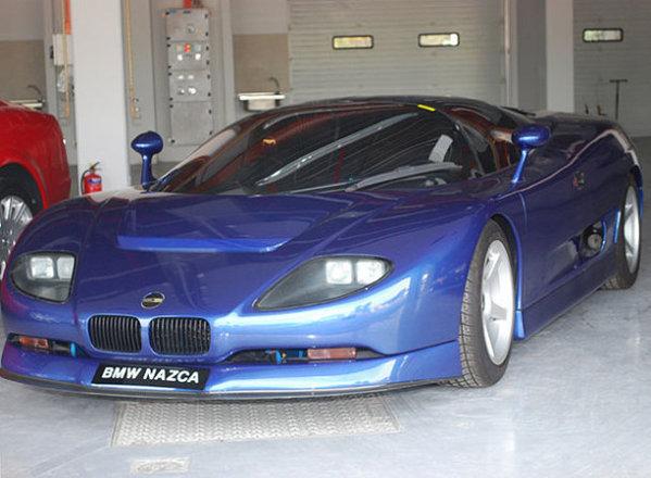Conceptul BMW Nazca V12 - unul din cele trei construite de Italdesign