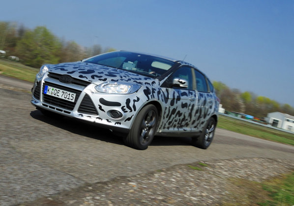 Noul Ford Focus ST in testele finale