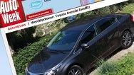 Poze spion cu Toyota Avensis facelift