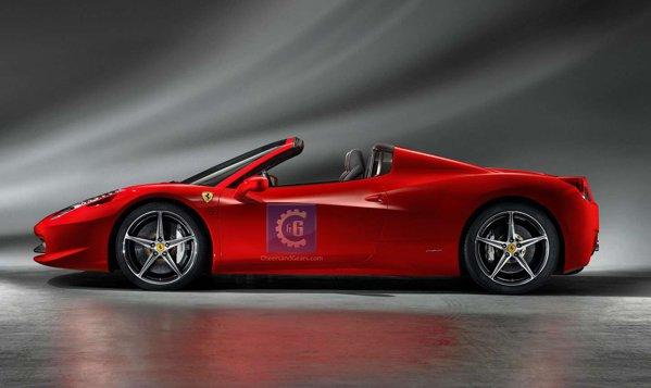 Sunt acestea primele imagini oficiale cu Ferrari 458 Italia?