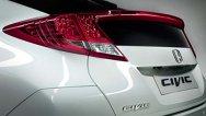 Teaser pentru Frankfurt 2011: prima poză cu noua Honda Civic
