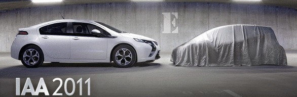 Noul concept Opel se pare ca va avea propulsie electrica, la fel ca Ampera
