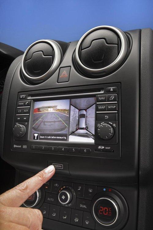Nissan Qashqai primeste optional sistemul Around View Monitor