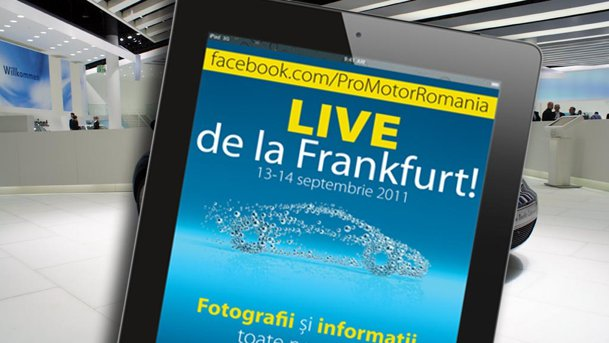 ProMotor transmite LIVE de la Frankfurt 2011