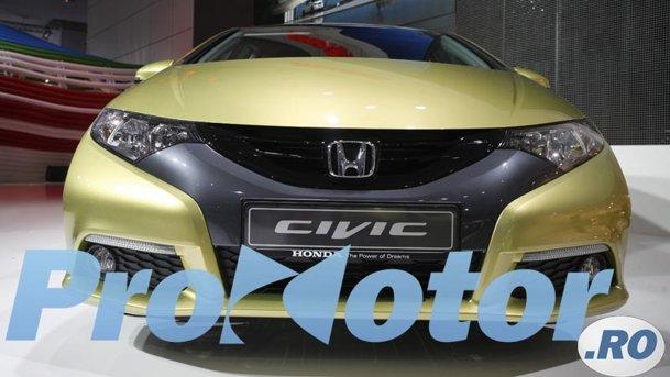 LIVE ProMotor - Honda Civic la Frankfurt 2011