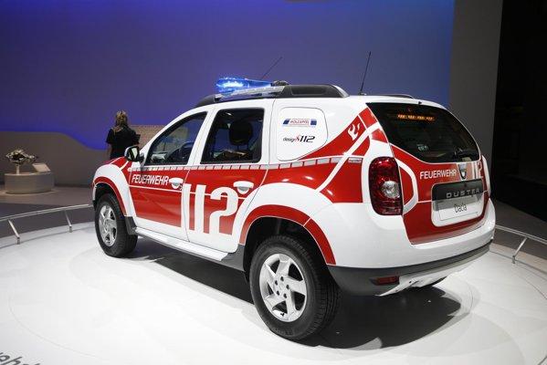 Dacia Duster preparata pentru pompieri - valente nebanuite pentru SUV-ul romanesc