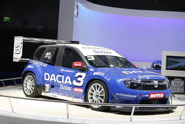 Dacia Duster Pikes Peak - amenintatoare chiar si stand pe loc
