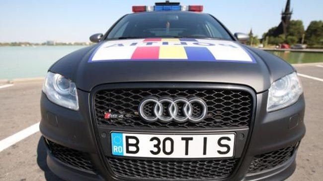 Imagini Poliţia Rutieră Din Constanţa şi A Tras Bolid Cu