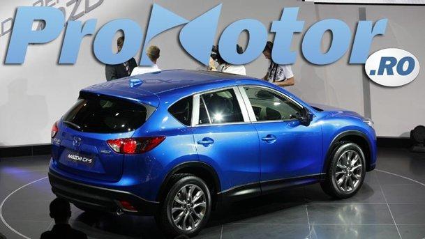 LIVE ProMotor - standul Mazda Frankfurt 2011