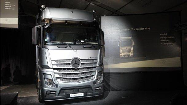 Disponibil în România: noul Mercedes-Benz Actros
