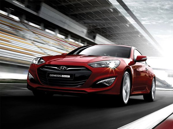 Noul Hyundai Genesis Coupe facelift are o parte frontala total modificata