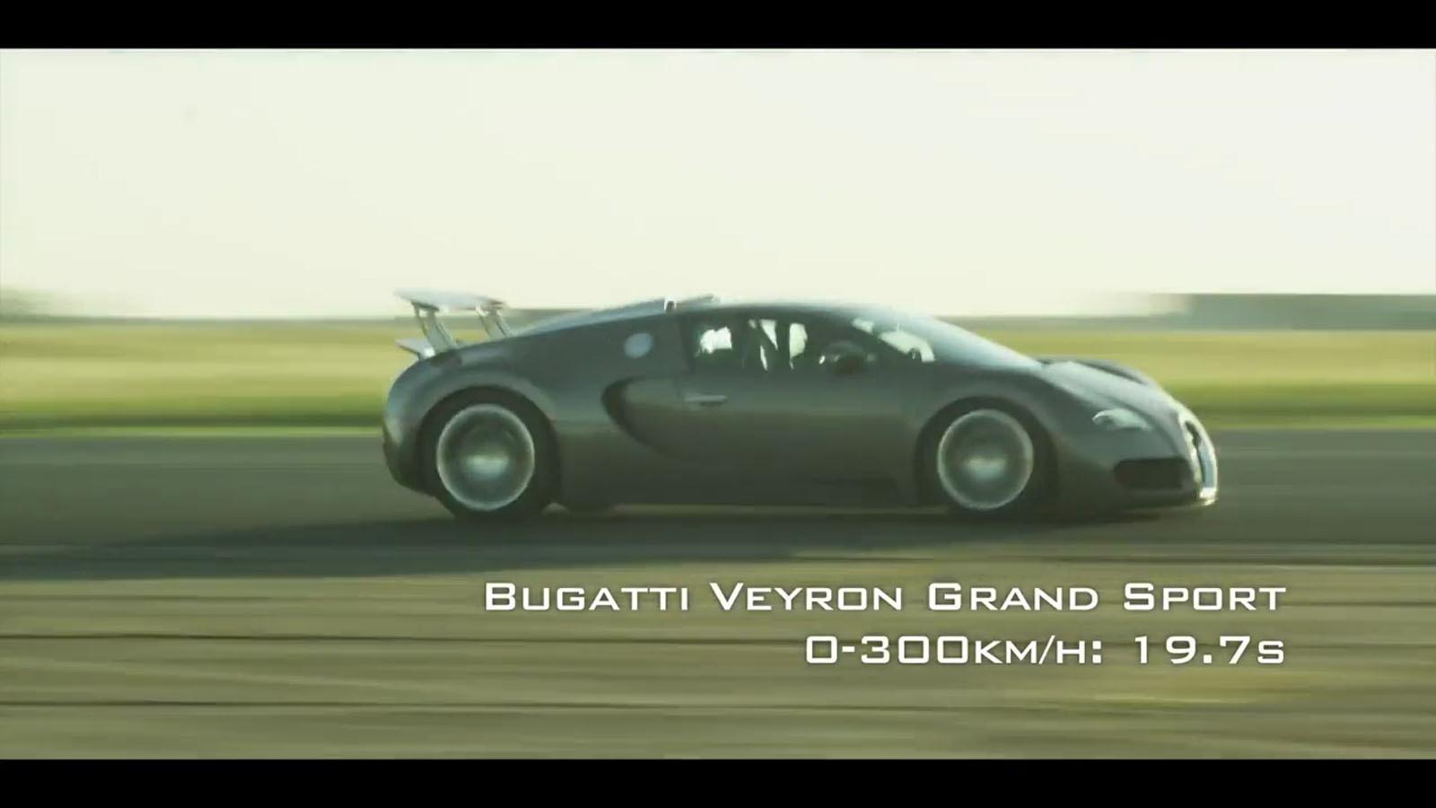 imagini - video: 0-300 km/h time trial