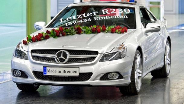 Adio, Mercedes-Benz SL!