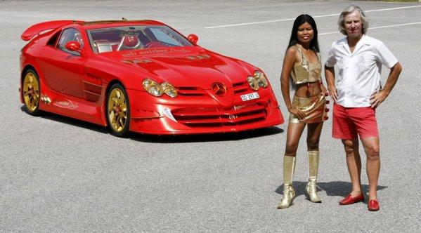 Elvetianul Ueli Anliker este creatorul bizarului SLR 999 Red Gold Dream