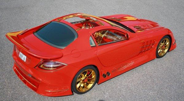 SLR 999 Red Gold Dream are puterea motorului crescuta de la 700 CP la 1.000 CP