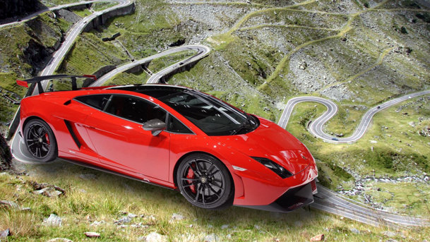 Transfăgărăşanul, locaţia pentru clipul noului Lamborghini Gallardo Super Trofeo Stradale