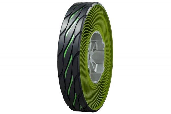 Bridgestone propune o noua anvelope non-pneumatica, ecologica si sigura