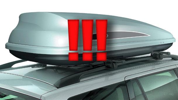 ADAC avertizează: portbagajele de acoperiş, nesigure în caz de impact