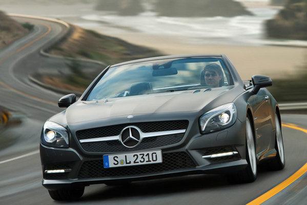 Noul Mercedes-Benz SL vine cu o imagine de marca surprinzator de conservatoare