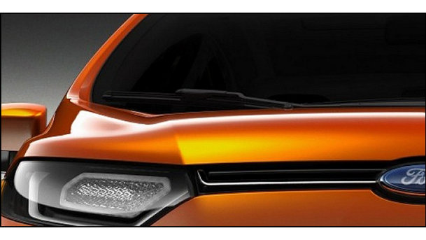 Teaser: Ford New Global SUV