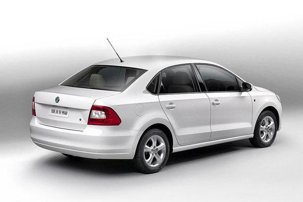 Skoda Rapid este un VW Polo Sedan cu fata de Fabia