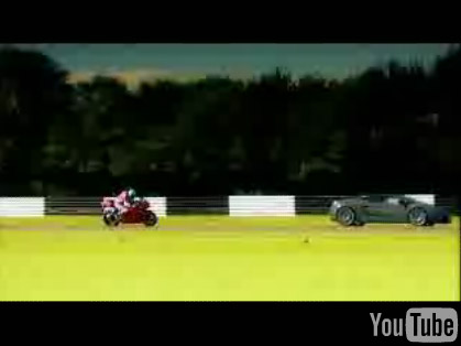 Lamborghini Gallardo Superleggera vs Ducati 1098
