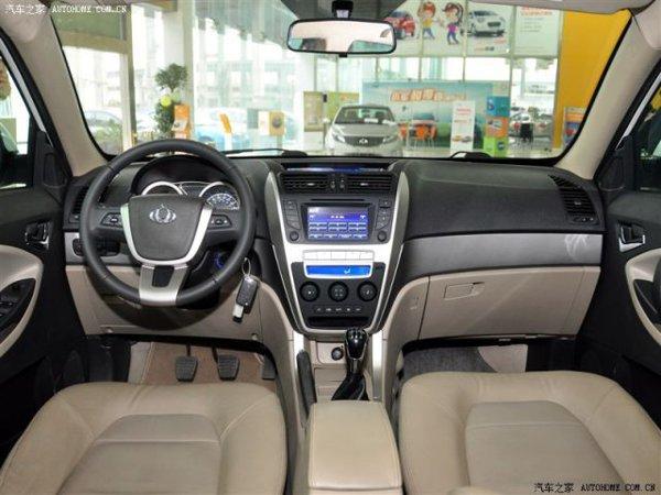 Interiorul lui Gleagle GX7 va avea un design modern, dar si multe dotari high-tech