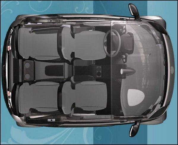 Lumeneo Neoma este un nou model electric, de 4 locuri si cu o lungime de 2,7 metri