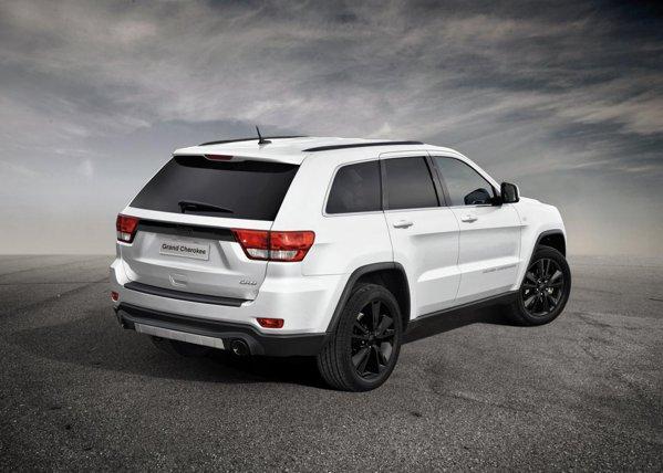 Jeep Grand Cherokee Black Look - production intent concept la Geneva 2012