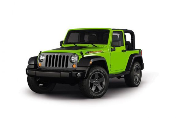 Jeep Wrangler Mountain Special Edition va intra in vanzare din vara acestui an