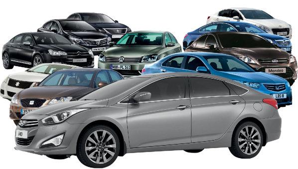 Când te numeşti Hyundai i40 şi vii cu o echipare excelentă, cei zece adversari redutabili nu pot rămâne indiferenţi.