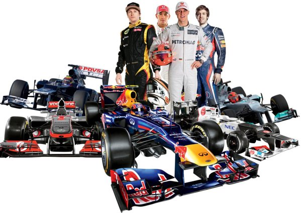 Ce se va întâmpla în 2012 în Formula 1? Nu ştim viitorul campion mondial, dar avem toate amănuntele importante din Marele Circ.