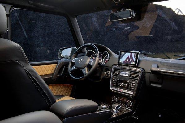 Interiorul SUV-ului german a rămas aproape neschimbat