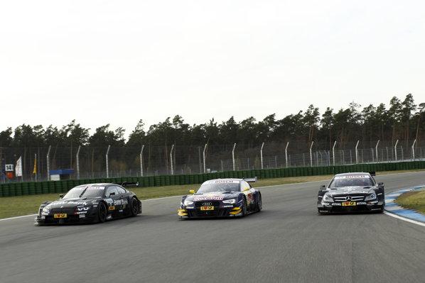 BMW M3 DTM - Audi A5 DTM - AMG Mercedes C-Coupe DTM