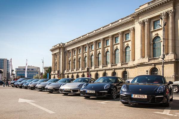 Porsche Roadshow 2012 - 10 masini Porsche pregatite pentru o zi HOT