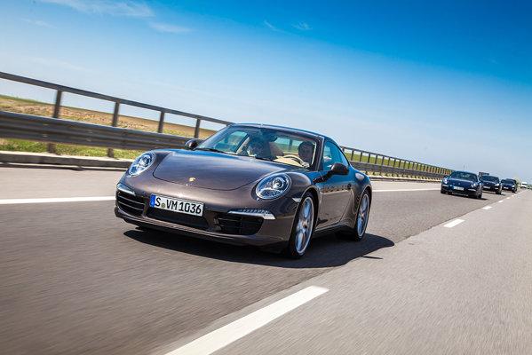 Adevarata vedeta a Porsche Roadshow 2012: Porsche 911 Carrera S