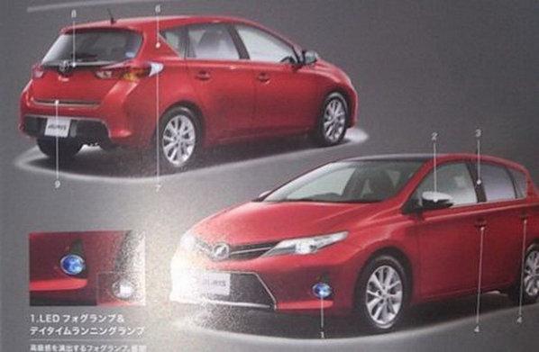 Noua Toyota Auris vine cu un design foarte agresiv si modern fata de generatia actuala
