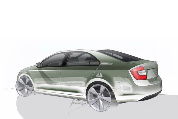 Skoda Rapid este bazata pe platforma alungita a lui VW Polo