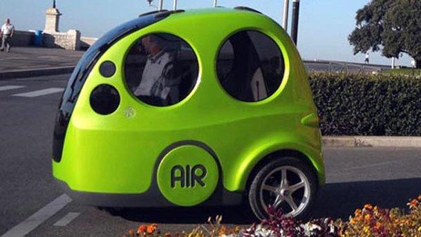 Maşina MDI, cu motor cu aer comprimat: 1 euro / 100 km şi zero emisii CO2