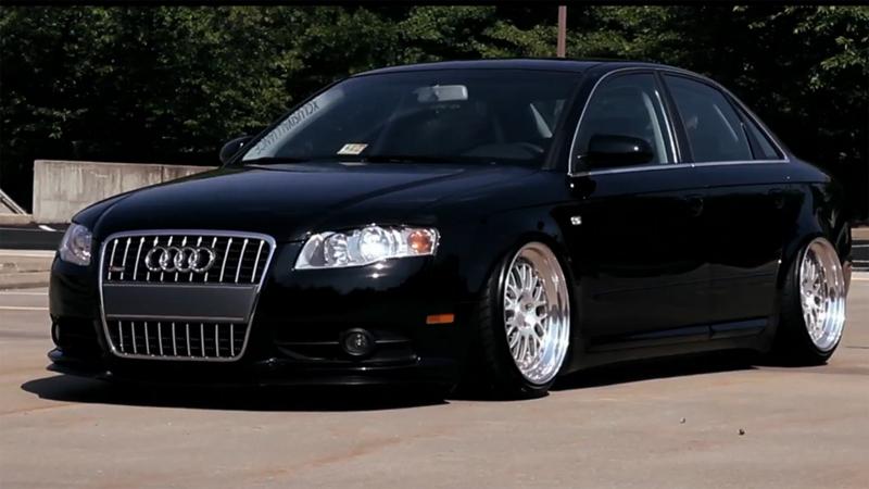 Imagini Oameni şi Maşini Audi A4 Quot Slammed Quot