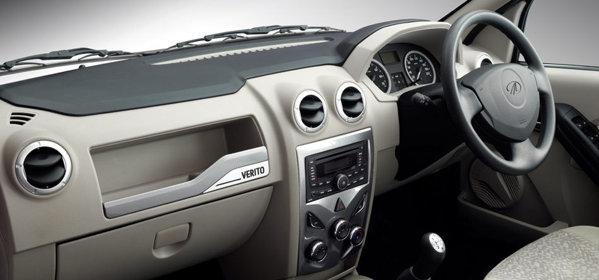Mahindra Verito facelift are designul interior modificat subtil