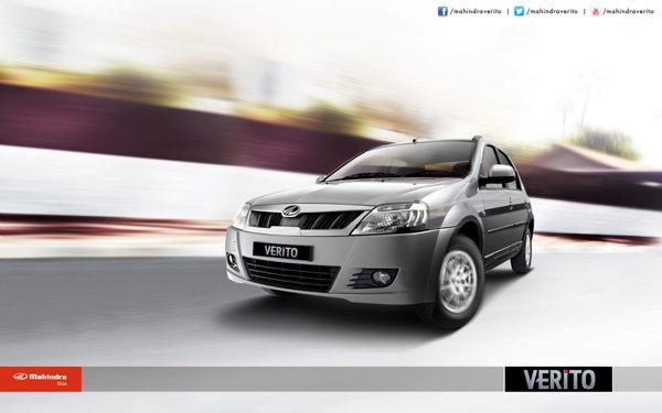Mahindra Verito facelift ofera un motor pe benzina si unul diesel
