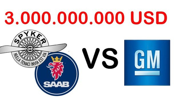 Scandalul Saab continuă: Spyker dă în judecată GM pentru 3 miliarde de dolari daune!