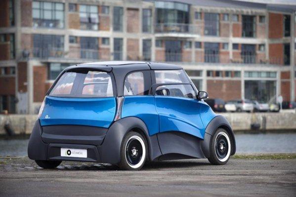 Cu 6 baterii-modul, EcoMOVE QBEAK promite 300 km autonomie