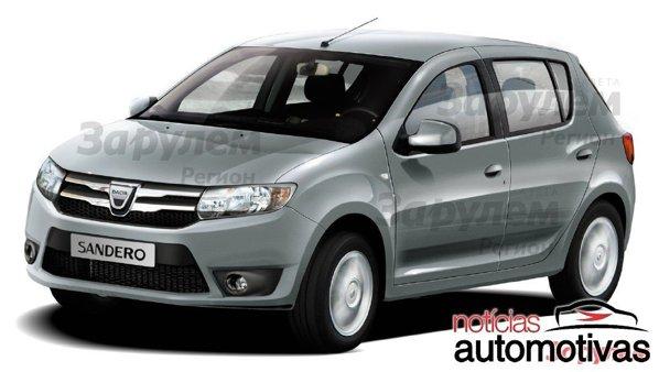 Noua Dacia Sandero arata mai agresiv