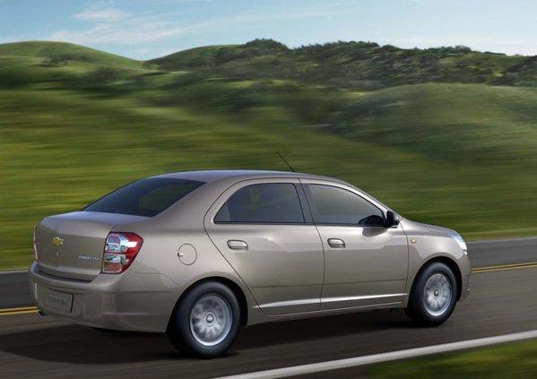 Chevrole Cobalt pentru Europa debuteaza la Salonul Auto Moscova 2012