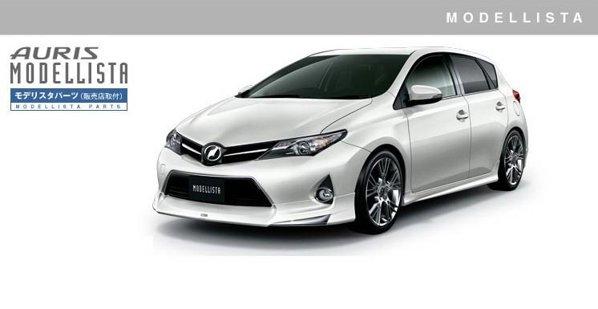 Desi are un look mai sportiv astfel, Toyota Auris nu beneficiaza de o motorizare potenta, de hot-hatch