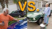 Cine e mai grijuliu cu maşina personală, femeia sau bărbatul?