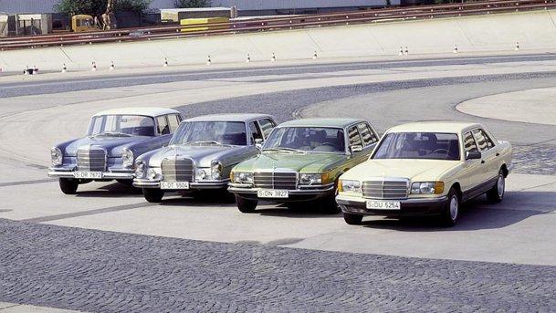 40 de ani de inovaţie şi lux: Mercedes-Benz S-Class