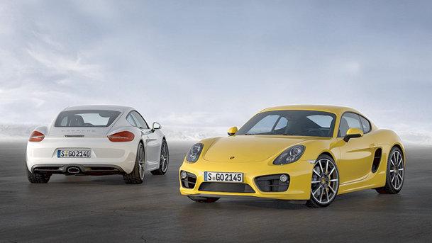 Noul Porsche Cayman e mai puternic şi mai uşor